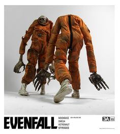 A bit of info about upcoming EVENFALL RELEASE ONE pre-order.  First of all, the pre-order date is November 21st 9:00AM Hong Kong time (and not November 23rd).  The first release Astronaut Strigoi will come in a few combos: *Single Standard suit *Two pack with Standard and Shredded suit *Single White suit Nightide Strigoi   #threeA #EVENFALL #FutureBambasale #toyphotography #collectible #toy #actionfigure #toys4life #toyplanet #toyrevolution