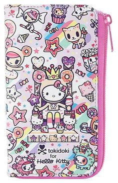 60b2ae9c9c Hello Kitty × Tokidoki Sweets Wallet Phone Case - PIQ Hello Kitty