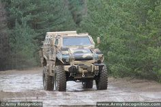 The Typhoon is a 4x4 multi-purpose armoured personnel carrier in the category of MRAP (Mine Resistant Ambush Protected) designed and manufactured by the Company Streit Group. Highly manoeuvrable, with 60% gradient and 30% side slope capabilities as well as a high ground clearance of up to 920mm