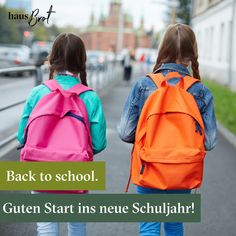 #backtoschool #kinder #schule #Schuljahr #schuljause #lieferservice Backpacks, Bags, New School Year, School, Kids, Handbags, Backpack, Backpacker, Bag