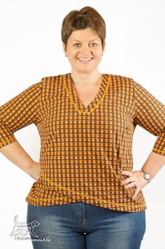 Schnittmuster / Ebook lillesol women No.17 Verano-Bluse / Nähen Shirt / Sewing pattern Verano blouse