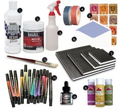 art journaling kit | Flickr - Photo Sharing!