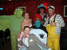 Coolest Pee Wee's Playhouse Group Halloween Costume
