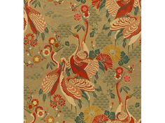 Kravet Fabric Kimono Inspired Haute Red Kravet by RoomKandi