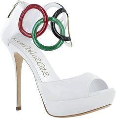olympic shoes #heels #shoes #highheels