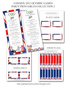 Paper Perfection: Olympic Party Invitation and Printables