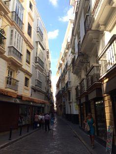 Streets of Cadiz, Spain