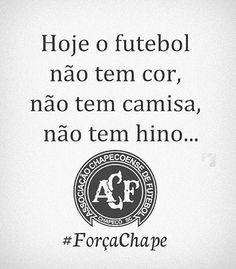 Hoje o dia amanheceu triste, sem gritos de gol, sem alento, sem euforia, sem amor, sem rivalidade, hj o futebol não tem cor, não tem camisa e muito menos hino!!! Hj somos todos #chapeconense🙏🏻🙌🏻🙏🏻🙌🏻🙏🏻 #pe.fabio
