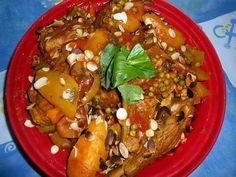 recette Tajine d agneau aux légumes