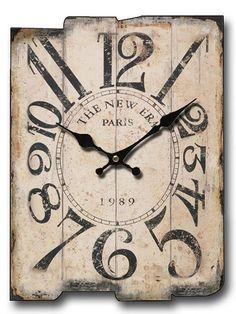 Rustic Wood Wall Clock, Old Wood Pieces Wall Clock Wooden, Rustic Wall Clocks, Clock Wall, Diy Clock, Handmade Wall Clocks, Unique Clocks, Plywood Furniture, Furniture Design, Wall Clock Online