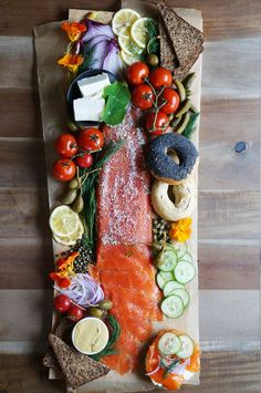 way too pretty: Homemade lox | HonestlyYUM