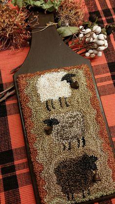 Primitive Punch Needle Baa Baa & Black Sheep Pattern