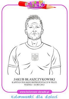 Jakub Błaszczykowski - Kolorowanki znane osoby