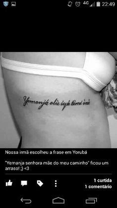 Frase yoruba yemanja