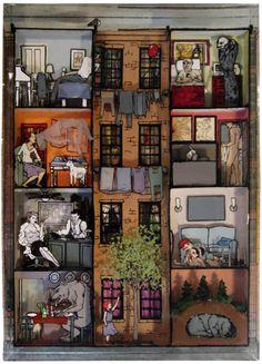 Jessica Korderas, Isolated Thoughts 3, résine et techniques mixtes, 45,7 x 33 x 7,6 cm