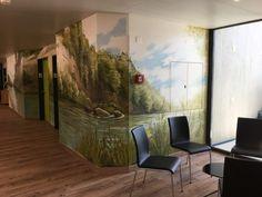 Corentin Meige - Décorateur spécialisé dans la création de fresque Creations, Painting, Art, Small Hallways, Depth Of Field, Stretched Canvas, Switzerland, Art Background, Painting Art