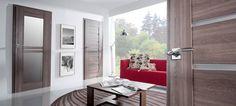 Laminované dveře SYDNEY ALU    Dřevěný masivní rám opatřený povrchy Lamistone a Silkstone, pro dlouhou životnost a snadnou údržbu. S dekorativní nerezovou lištou. Oversized Mirror, Windows, Furniture, Home Decor, Decoration Home, Room Decor, Home Furnishings, Home Interior Design, Ramen