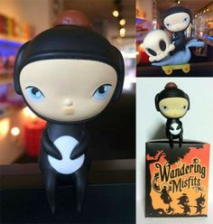"Wandering Misfits 3"" Outland Store Exclusive Calliope Black Edition"