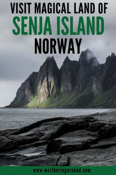 5 reasons why you should visit Senja island in Norway. Explore Norway off the beaten path with stunning views and less tourists than Lofoten. Paradise for adventure lovers and outdoor enthusiasts. Europe Travel Guide, Travel Guides, Travel Destinations, Lofoten, European Destination, European Travel, European Trips, Alaska, Norway Travel
