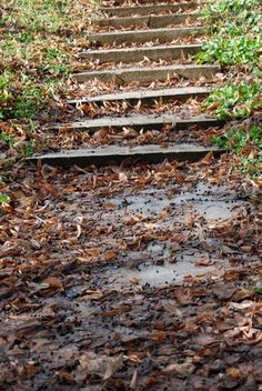 how to build a walkway on a steep slope