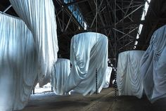 Ann Hamilton's latest large-scale installation transforms Philadelphia's Municipal Pier 9 through Monday October 10 and three floors of The Fabric Workshop and Museum (FWM) through early January.