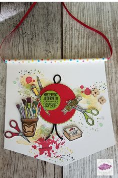 Stampin Up, Happy Mail, Card Making, Mail Ideas, Paper Crafts, Mini, Creative, Banners, How To Make