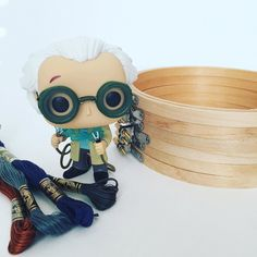 Great Scott! So glad to be living in the future today.  -- {PS: that stack of hoops is not just for show it's my workload right now so thank you for being patient with me! I'm a one woman show!} -- #clothandtwig #backtothefuture #greatscott #lootcrate #hoopart #etsy #backtothefutureday #hustle #girlboss #shopsmall