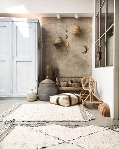 Wabi Sabi, Living Room Interior, Living Room Decor, Marrakech, New York Loft, Ethnic Home Decor, Archi Design, Bohemian House, Interior Decorating