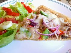 PULLED PORK & WHITE PIZZA DOUGH