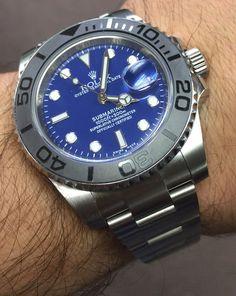 9b65a2e38ea Rolex Submariner Steel Blue Dial   Black Bezel - Model 116610