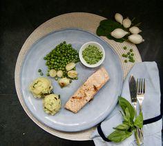 Onion, Creamed Spinach, Frozen Peas, Seasonal Recipe, Snap Peas