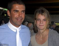 Greek heiress Athina Onassis (R) and her husband, Alvaro Alfonso de Miranda Neto (also known as Doda), stand together at the Athina Onassis International Horse Show in Sao Paulo August 4, 2007