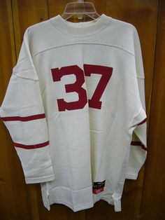 Cornell University Throwback Football Sweater Size XL Made in Canada Stall Dean | eBay