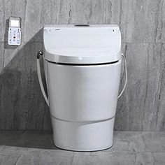 WOODBRIDGE Toilet & Bidet Luxury Elongated One Piece Advanced Smart Seat with Temperature Controlled Wash Functions and Air Dryer, Toilet with Bidet, Bidet & Toilet Bathroom Seat, Smart Toilet, Smart Home Technology, Wood Bridge, Steel Material, Modern House Design, Dryer, Luxury, Toilet Paper