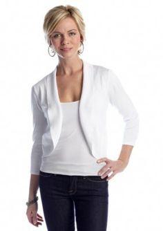 Kim Rogers  Open Front Shawl Collar Cardigan