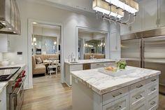 Kitchen opens nook room