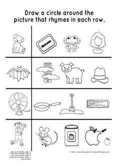 Printables Phonemic Awareness Worksheets For Kindergarten phonemic awareness is a strong indicator of childs later rhyming games worksheets ccss aligned for kindergarten this pack contains everything you need to teach