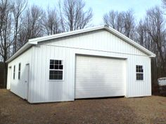 """Building Dimensions: 30' W x 40' L x 10' 4"""" H (ID# 302)  Visit: http://pioneerpolebuildings.com/portfolio/project/30-w-x-40-l-x-10-4-h-id-302-total-cost-19930  Like Us on Facebook! www.facebook.com/... Call: 888-448-2505 for any questions!"""