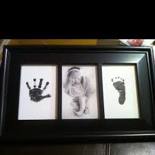 Image result for baby hand and footprint canvas