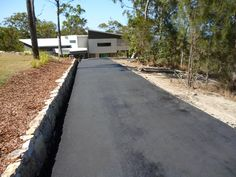 Impact Asphalt construct asphalt driveways of any shape or size.