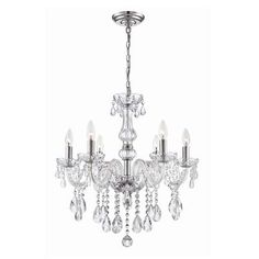 Collection 6 Light Chrome Chandelier Caventi 12 Braided Crystal In Canada Home Depot