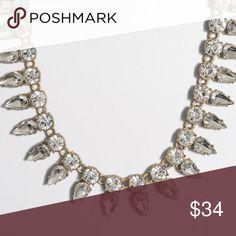 J. Crew Statement Necklace Retail $64.50. NWT and J. Crew dust bag. Happy Poshing! J. Crew Jewelry Necklaces