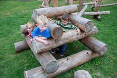 Playground Build Design | Natural Child Play | Earth Wrights Ltd ...