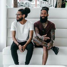 Man Buns and Tattoos