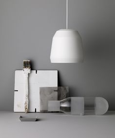 Mingus P1 White designed by Cecilie Manz http://www.lightyears.dk/lamps/pendants/mingus-white.aspx
