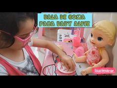 COMO FAZER BALA DE GOMA PARA BABY ALIVE