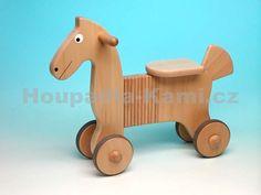 Dřevěné odrážedlo kůň přírodní  1331,-