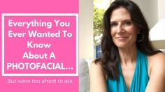 Photofacial Review: The Pain, The Price & The Photos! Wondering happens before, during & after a photofacial? We're spilling the beans & sharing the photos to detail what it really takes to get glowing skin.