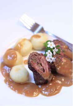 Śląska rolada wołowa Polish Recipes, Polish Food, Steak, Beef, Dishes, Recipies, Meat, Polish Food Recipes, Tablewares