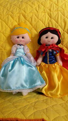 Cinderela e Branca de Neve